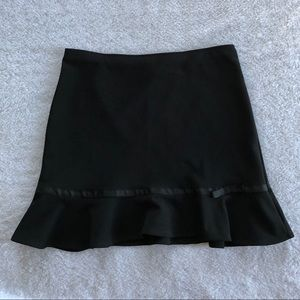 Fashion Bug Black A Line Skirt